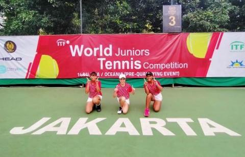 Indonesia Juara Pra-Kualifikasi Asia Oseania World Tenis Junior