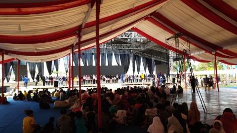 Jokowi Bakal Berbaur Bersama Rakyat di Kenduri Kebangsaan
