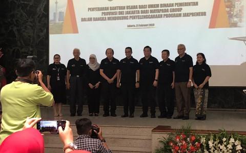 Bos Mayapada Dukung Pengembangan UMKM Jakarta