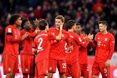 Hasil Pertandingan Sepak Bola Semalam: Bayern Muenchen Perkasa