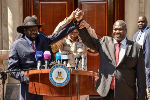 Mantan Kepala Pemberontak Jadi Wapres Sudan Selatan