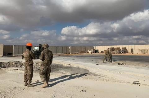 Jumlah Prajurit AS yang Terluka Diserang Iran Jadi 110