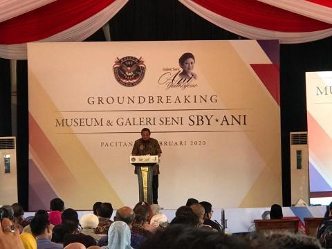 SBY Resmikan Pembangunan Museum Galeri Seni SBY-ANI