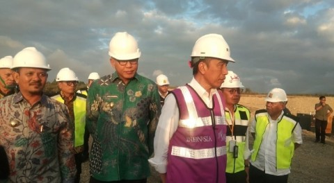 Jokowi Kaget Progres Pembangunan Tol Aceh Lebih Cepat