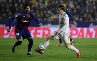 Hasil Pertandingan: Madrid Bertekuk Lutut di Markas Levante