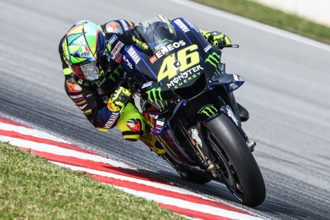 Rossi Ingin Lebih Cepat dari Tes Hari Pertama di Qatar