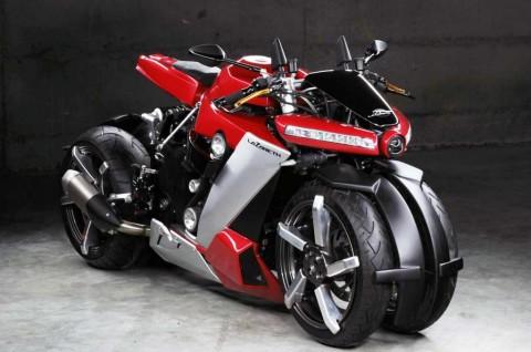 Lazareth LM 410 Pinjam Jantung Mekanis Yamaha R1 Street