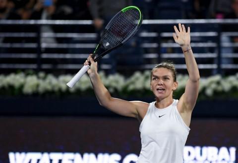 Simona Halep Sabet Gelar WTA ke-20 di Dubai