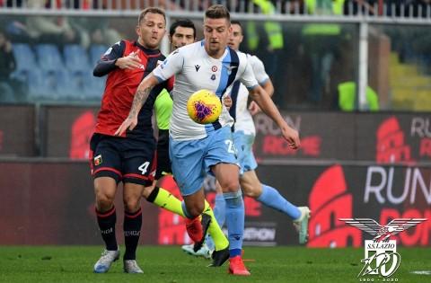 Bungkam Genoa, Lazio Teror Juventus di Klasemen