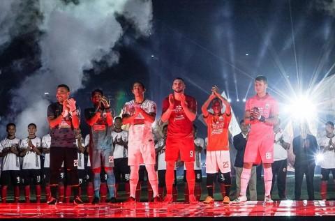 Persija Jakarta <i>Launching</i> Tim untuk Liga 1 2020