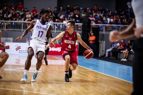 Timnas Basket Dipecundangi Filipina di Kualifikasi FIBA Asia