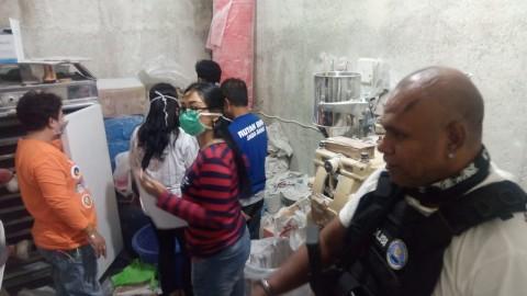 Empat Rumah di Bandung Jadi Pabrik Narkoba