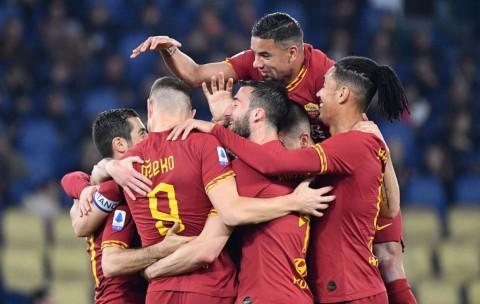 Hasil Pertandingan: Bantai Lecce, Roma Bayangi Atalanta