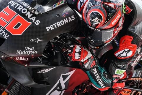Fabio Quartararo Tercepat di Hari Kedua Tes Pramusim Qatar
