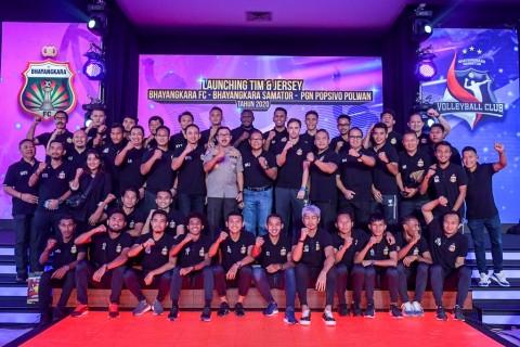 Bhayangkara FC Perkenalkan Skuat Musim 2020