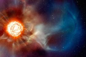 Salah Satu Bintang Tercerah Mulai Meredup
