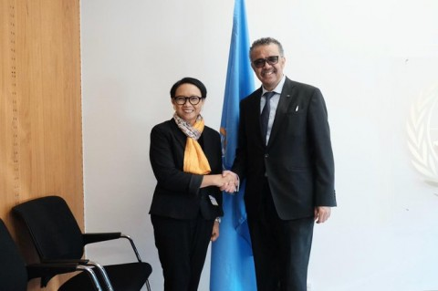 FM Retno, WHO Leader Discuss COVID-19 Outbreak