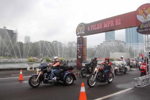 MPR RI Gandeng Bikers Tegakkan Empat Pilar Kebangsaan