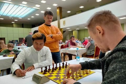 IM Novendra Mulus di Liberec Open