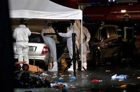 30 Orang Terluka Ditabrak Mobil di Karnaval Jerman