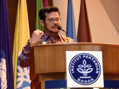 Mentan Ingin Pengetahuan Mahasiswa Pertanian Bermanfaat di Pedesaan