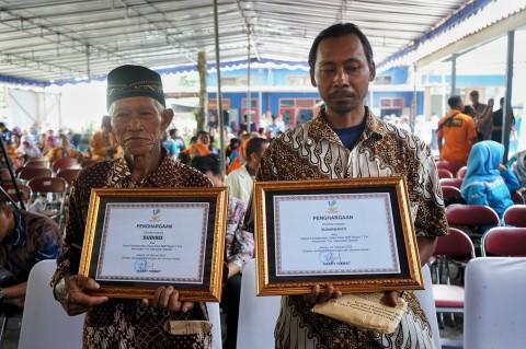 Penyelamat Korban Susur Sungai Sempor Peroleh Penghargaan
