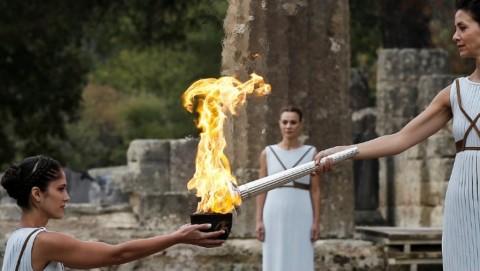 Yunani Bakal Gelar Seremoni Api Olimpiade untuk Virus Korona