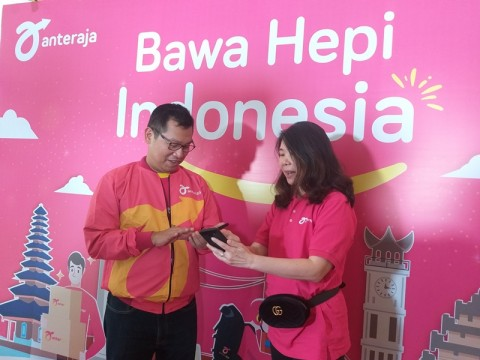 Anteraja Bidik Pengiriman Barang di Festival Java Jazz