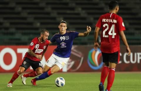 Piala AFC: Bali United Merana Dikalahkan Tim Kamboja