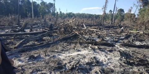 8 Hektare Lahan di Aceh Terbakar