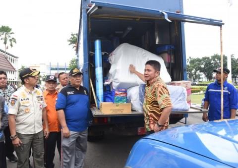 Dinsos Sumsel Gelontorkan Rp300 Juta Bantu Penanganan Bencana