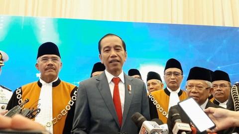 President Jokowi Denies Cabinet Reshuffle Rumors