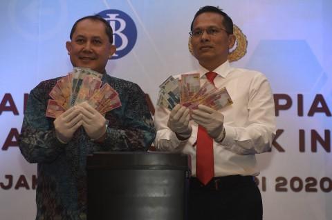 Polri dan BI Musnahkan 50.087 Lembar Uang Palsu