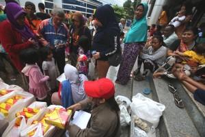 Tips Wanita Hamil Trimester Akhir di Penampungan Banjir