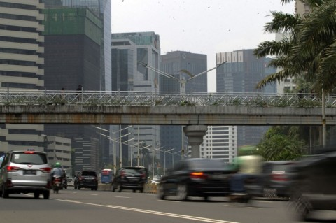 Pengelolaan JPO di Jakarta Dikritisi
