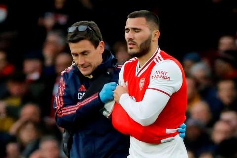 Bek Sayap Arsenal Sead Kolasinac Cedera Serius