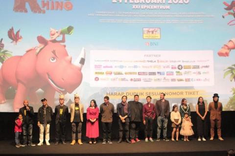 Film Animasi Riki Rhino Bawa Pesan Pelestarian Badak Sumatra