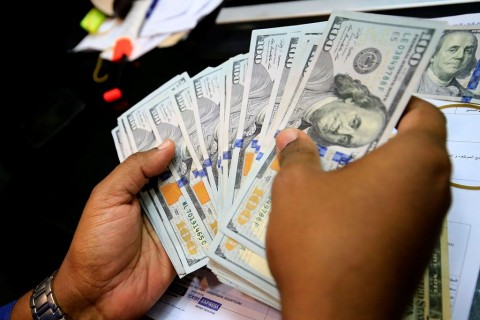 Dolar AS Menguat Tipis