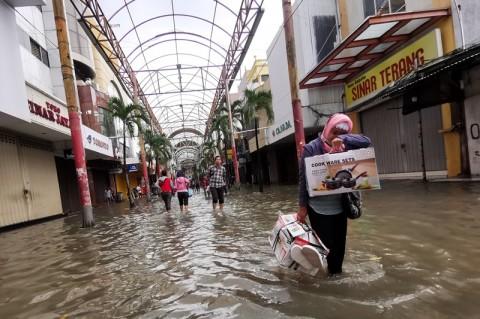 1.253 PNS DKI Jakarta Cuti karena Banjir