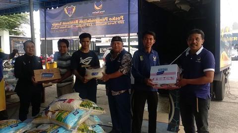 NasDem Dirikan Posko Bantuan Korban Banjir Jakarta