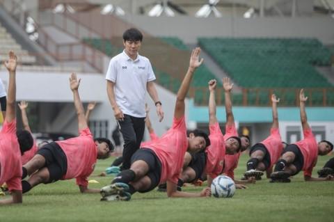 Shin Tae-yong Belum Puas Hasil TC Pertama Timnas