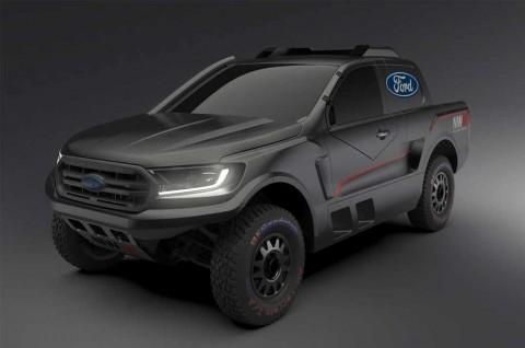 Ford Ranger Khusus buat Balap Rally