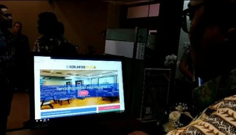 Layanan <i>Online</i> SIM Praktis dan Cegah Korupsi