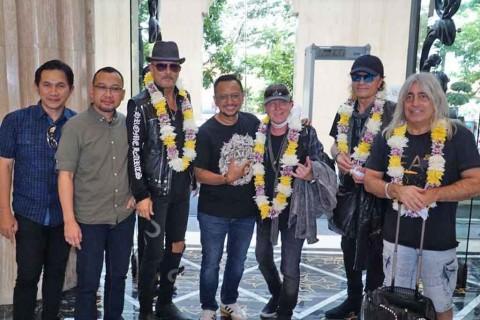 Scorpions dan Whitesnake telah Mendarat di Yogyakarta