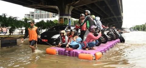 Sekda DKI Dicap Bebal Soal Banjir