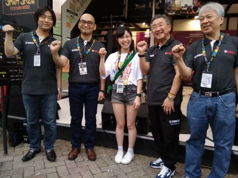 Kolaborasi Yamaha Music dan Proyek Musisi di Java Jazz 2020