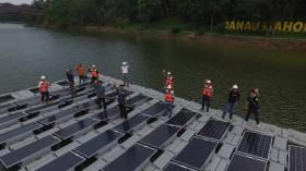 Sokong Energi Terbarukan via PLTS Terapung Bifacial