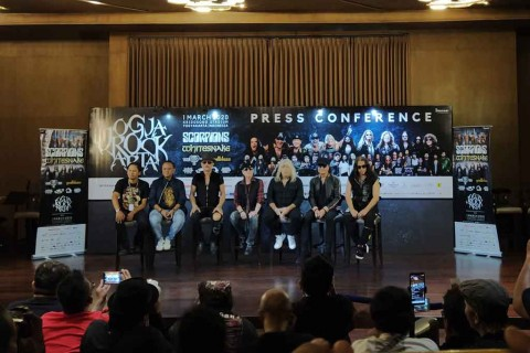 Bicara Indonesia, Vokalis Scorpions Kenang Band Tielman Brothers