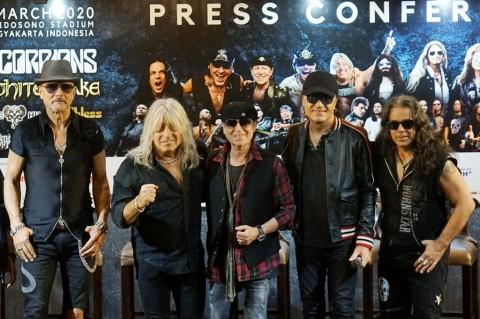 Scorpions Siap Gebrak Panggung JogjaROCKarta 2020
