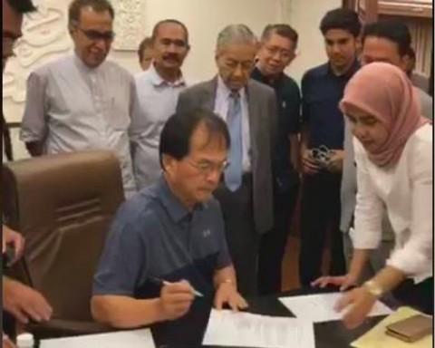Pakatan Klaim Miliki Suara Dukung Mahathir jadi PM Malaysia